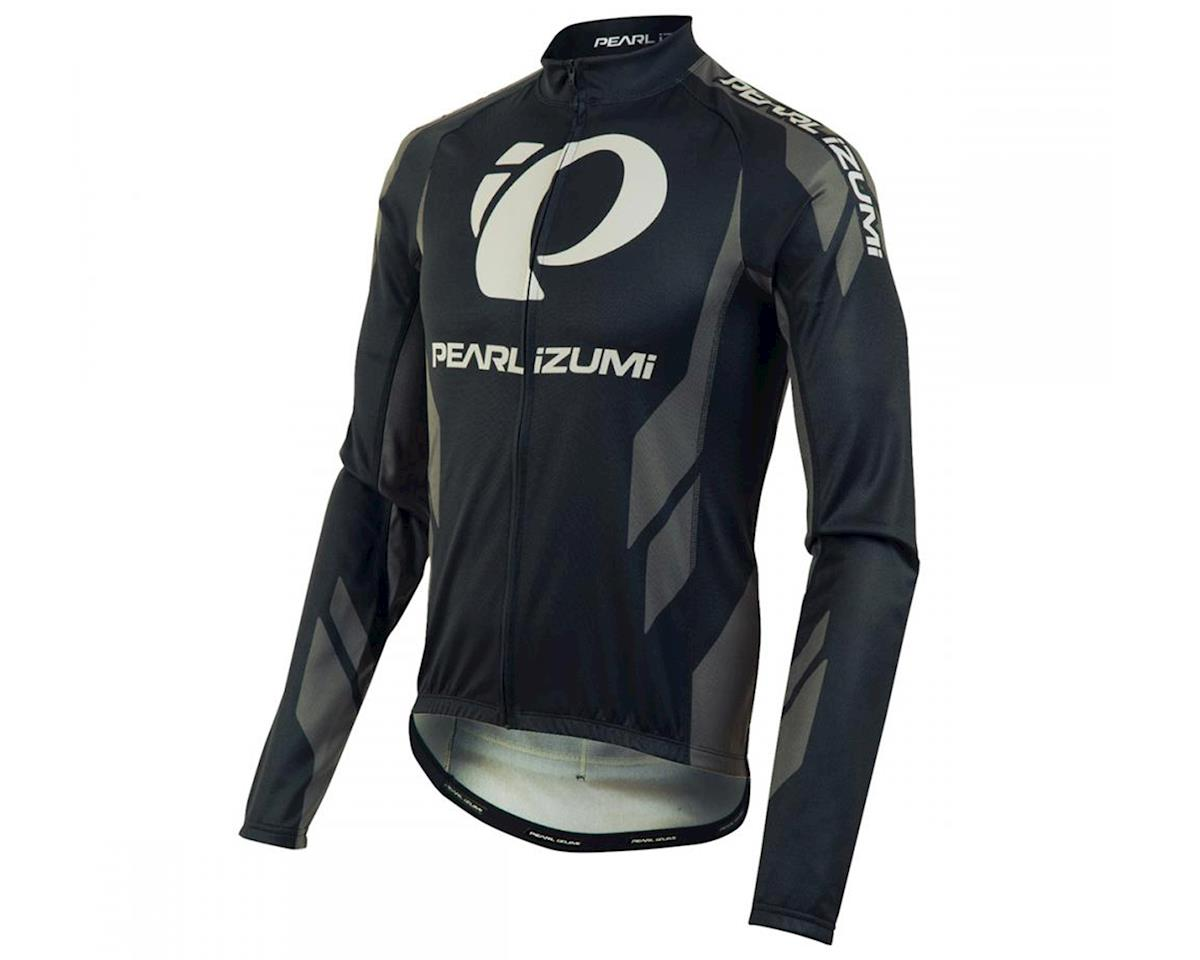 Pearl Izumi Elite Thermal LTD Long Sleeve Cycling Jersey (Shadow Grey) (M)