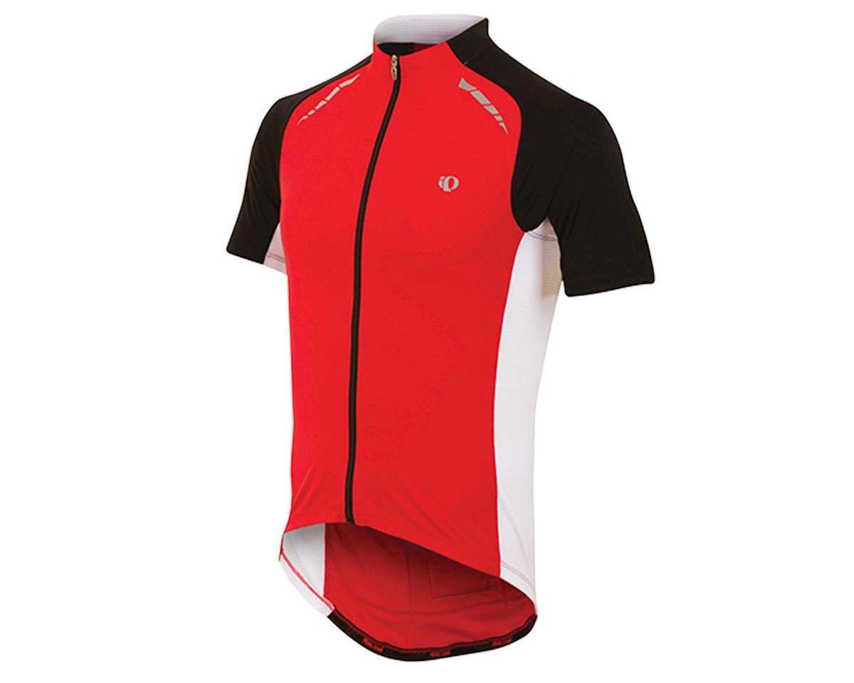 Pearl Izumi Elite Pursuit Cycling Jersey (True Red/White) (L)