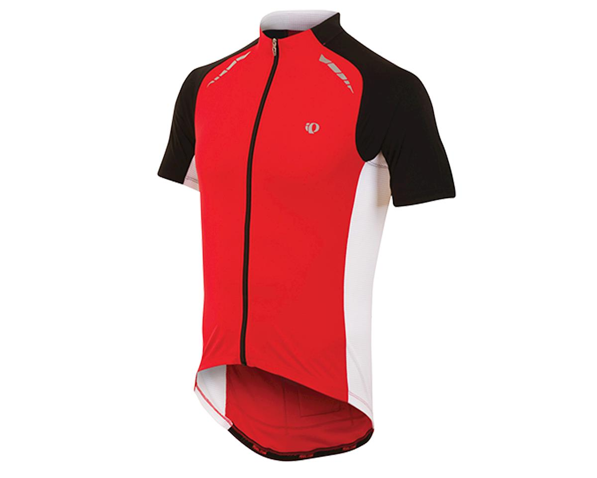 Pearl Izumi Elite Pursuit Cycling Jersey (True Red/White) (M)