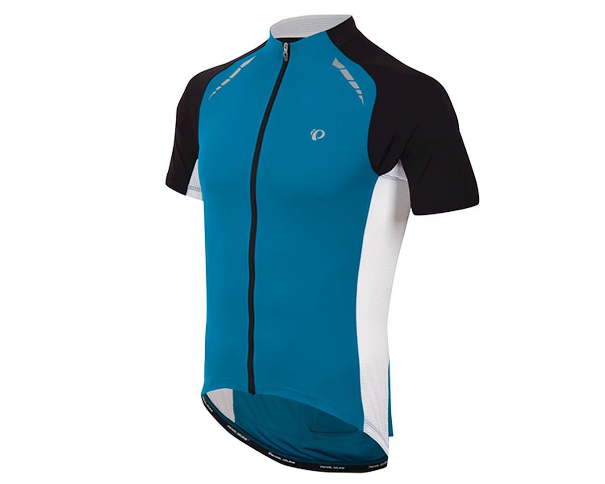 Pearl Izumi Elite Pursuit Cycling Jersey (Mykonos Blue/White) (XL)