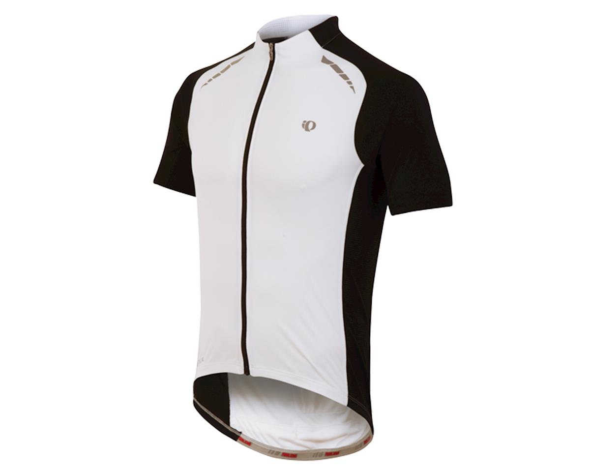 Pearl Izumi Elite Pursuit Cycling Jersey (White/Black)