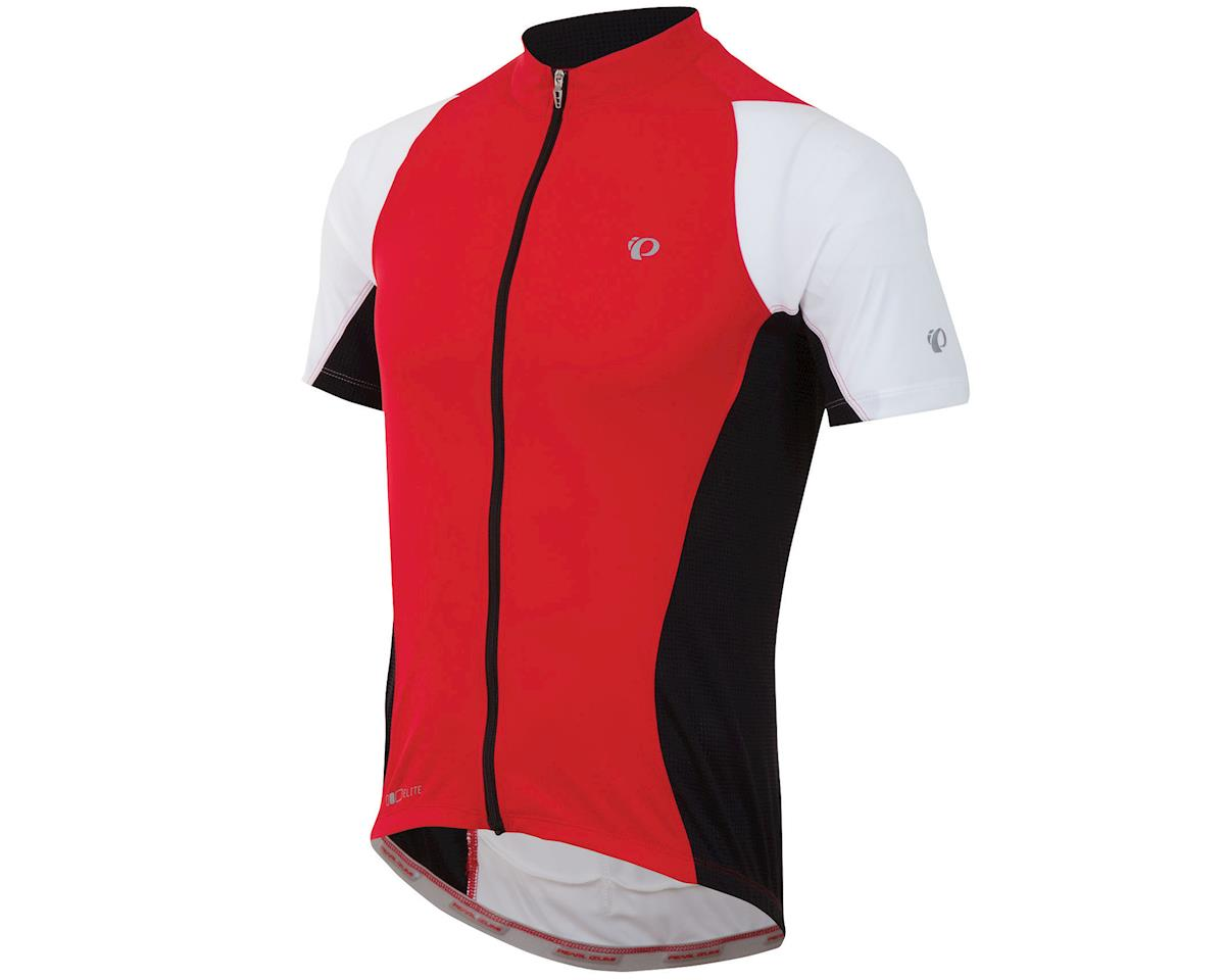 Pearl Izumi Elite Semi-Form Cycling Jersey (True Red/Black)