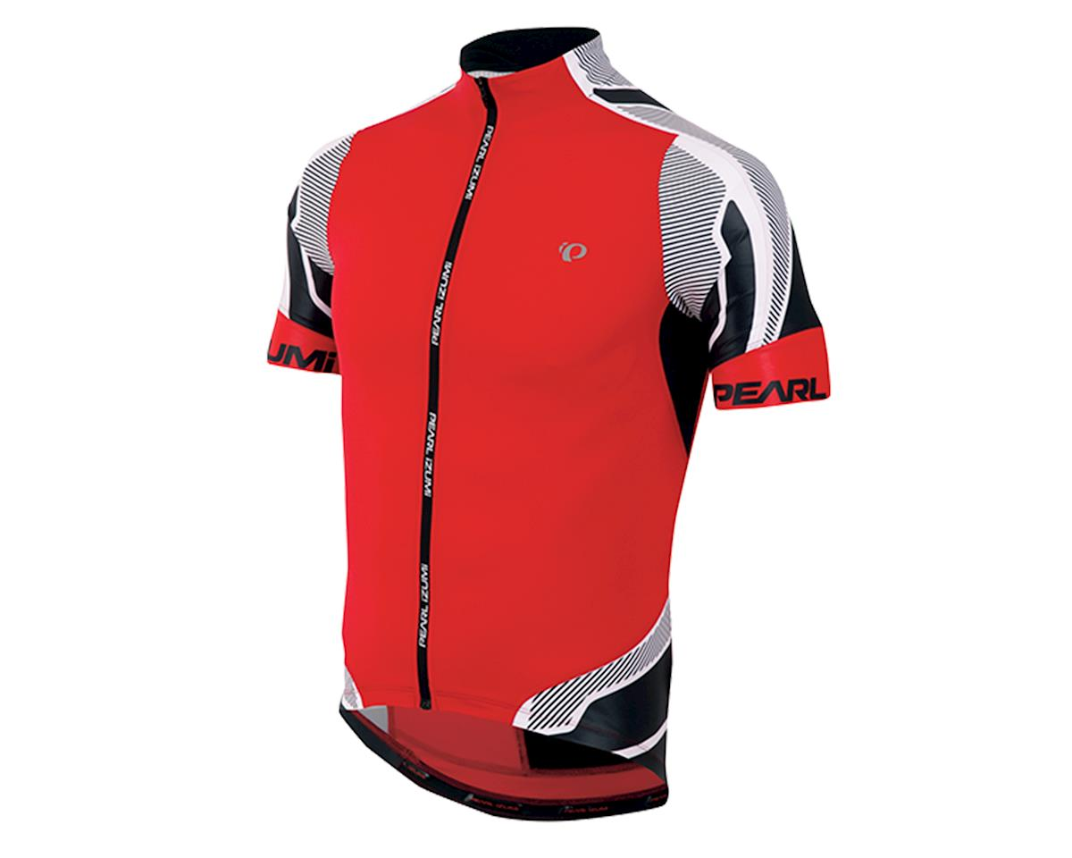 PRO Leader Cycling Jersey (True Red/Black)