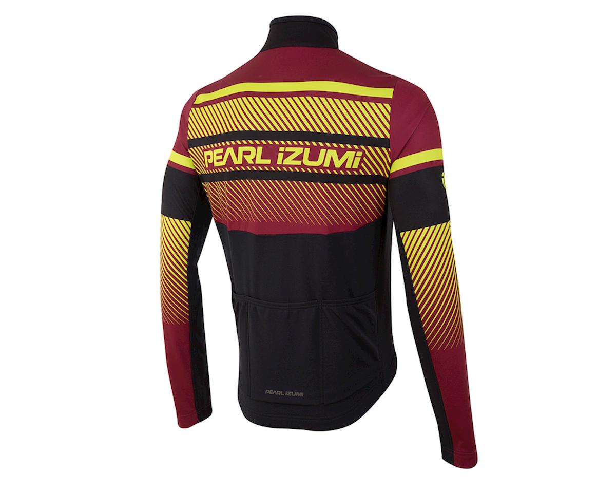 "Image 2 for Pearl Izumi Select Thermal LTD Subline Red Jersey (Subline Tibetan Red) (Medium 38-40"")"
