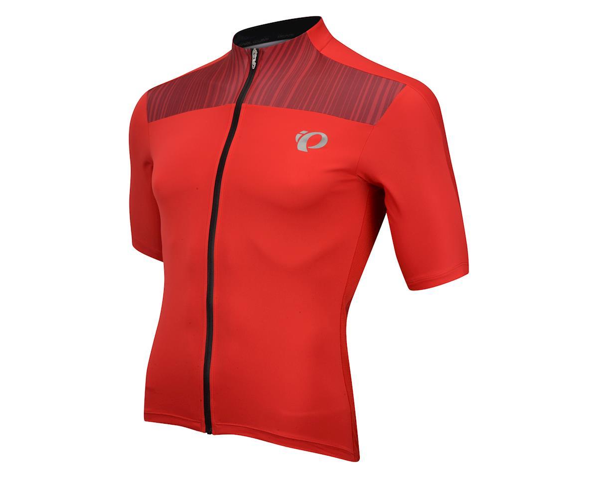 Pearl Izumi Elite Pursuit Short Sleeve Jersey (Red) (Xlarge)