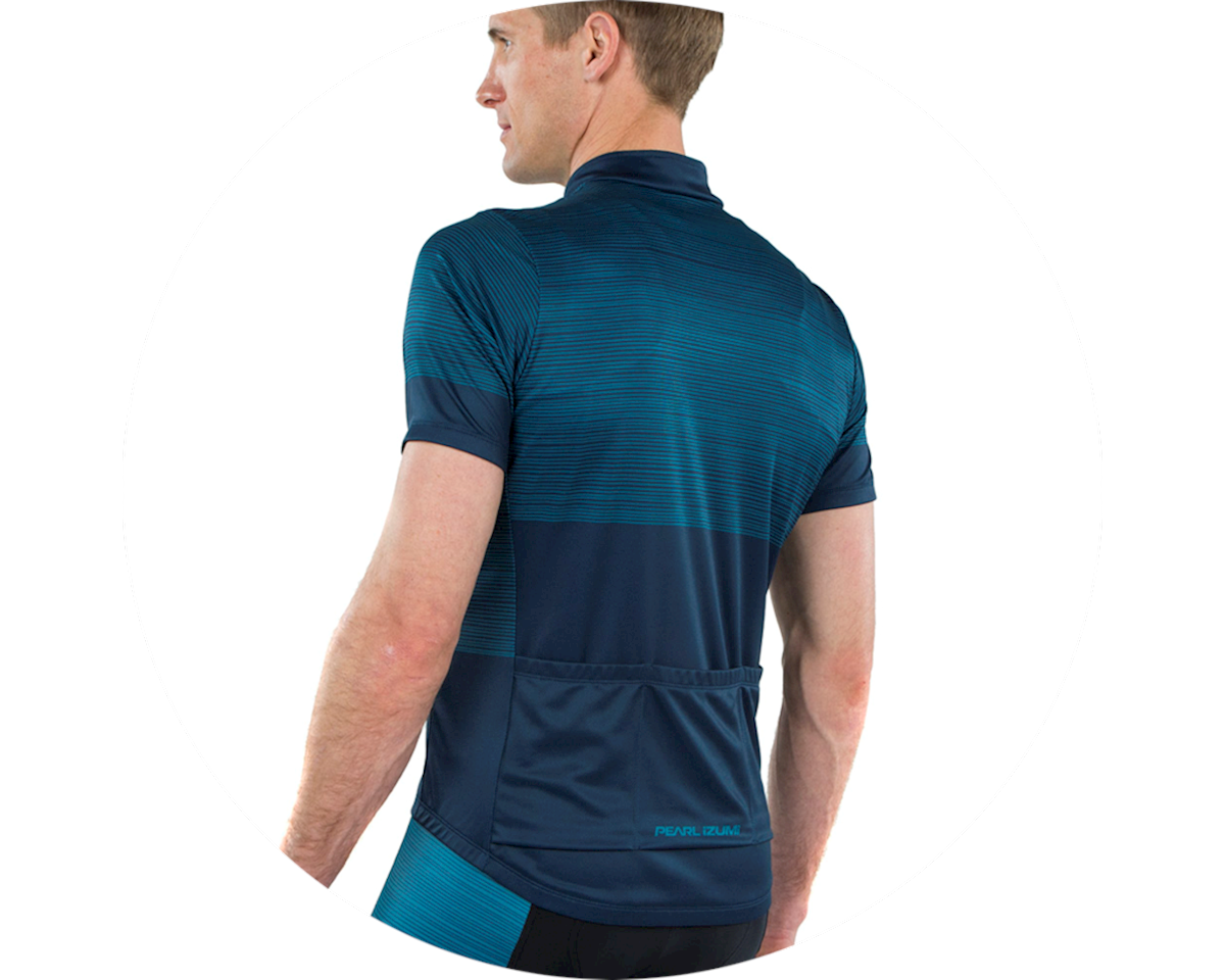 Pearl Izumi Select LTD Jersey (Navy/Teal stripes) (L)