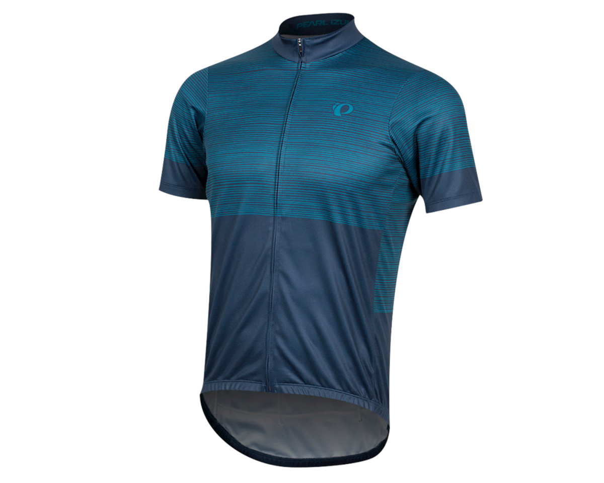 Pearl Izumi Select LTD Jersey (Navy/Teal stripes) (XL)