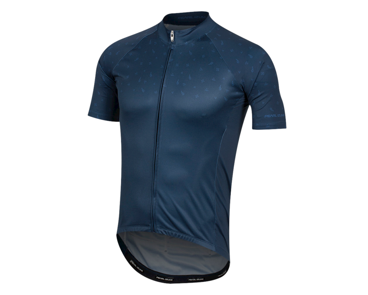 Image 1 for Pearl Izumi Elite Pursuit Graphic Short Sleeve Jersey (Navy Paisley) (XS)