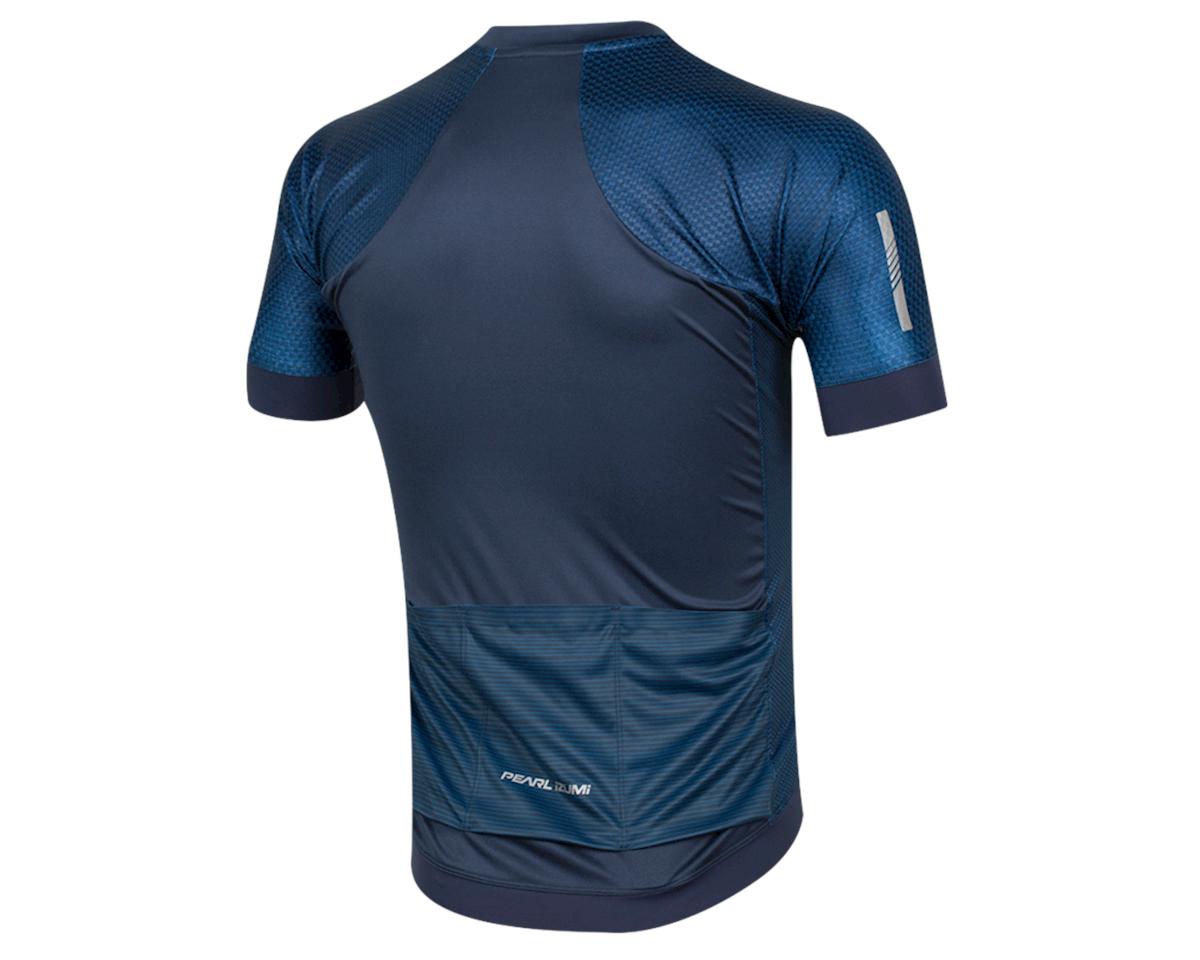 Pearl Izumi Elite Pursuit Graphic Short Sleeve Jersey (Navy Stripe) (2XL)