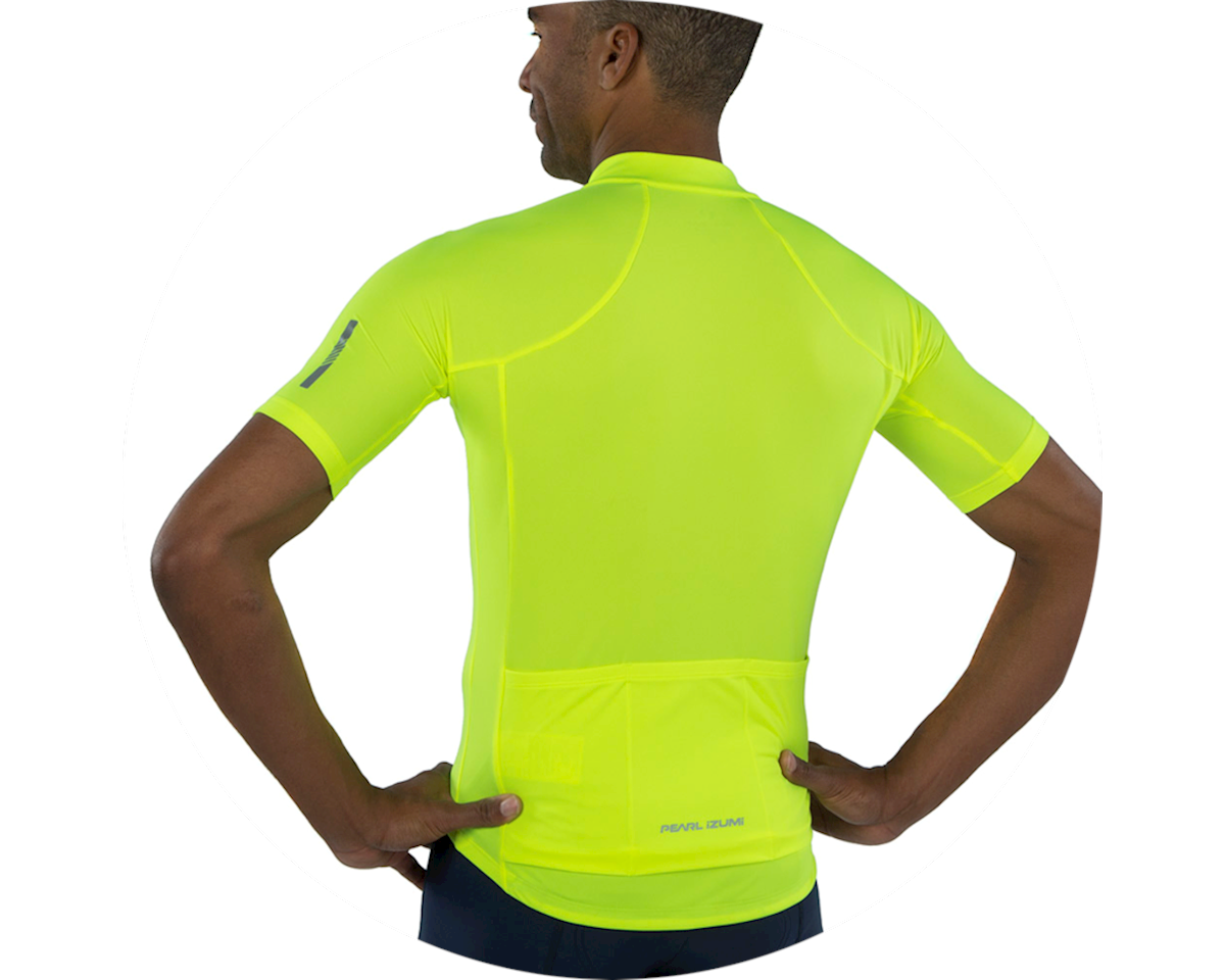 Pearl Izumi Select Pursuit Short Sleeve Jersey (Screaming Yellow) (XS)