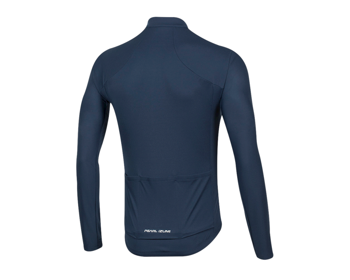 Pearl Izumi Select Pursuit Long Sleeve Jersey (Navy) (L)