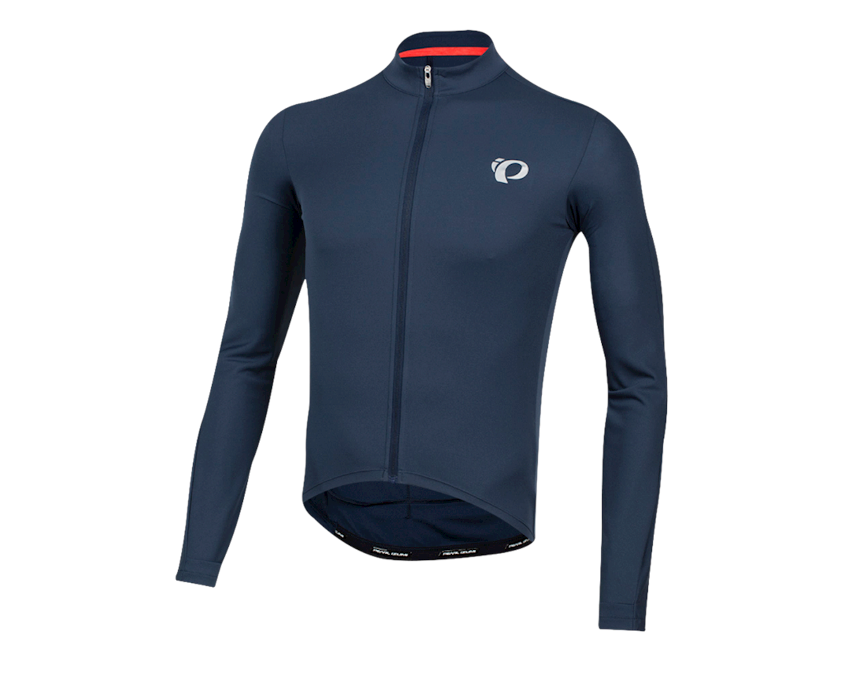 Pearl Izumi Select Pursuit Long Sleeve Jersey (Navy) (XS)