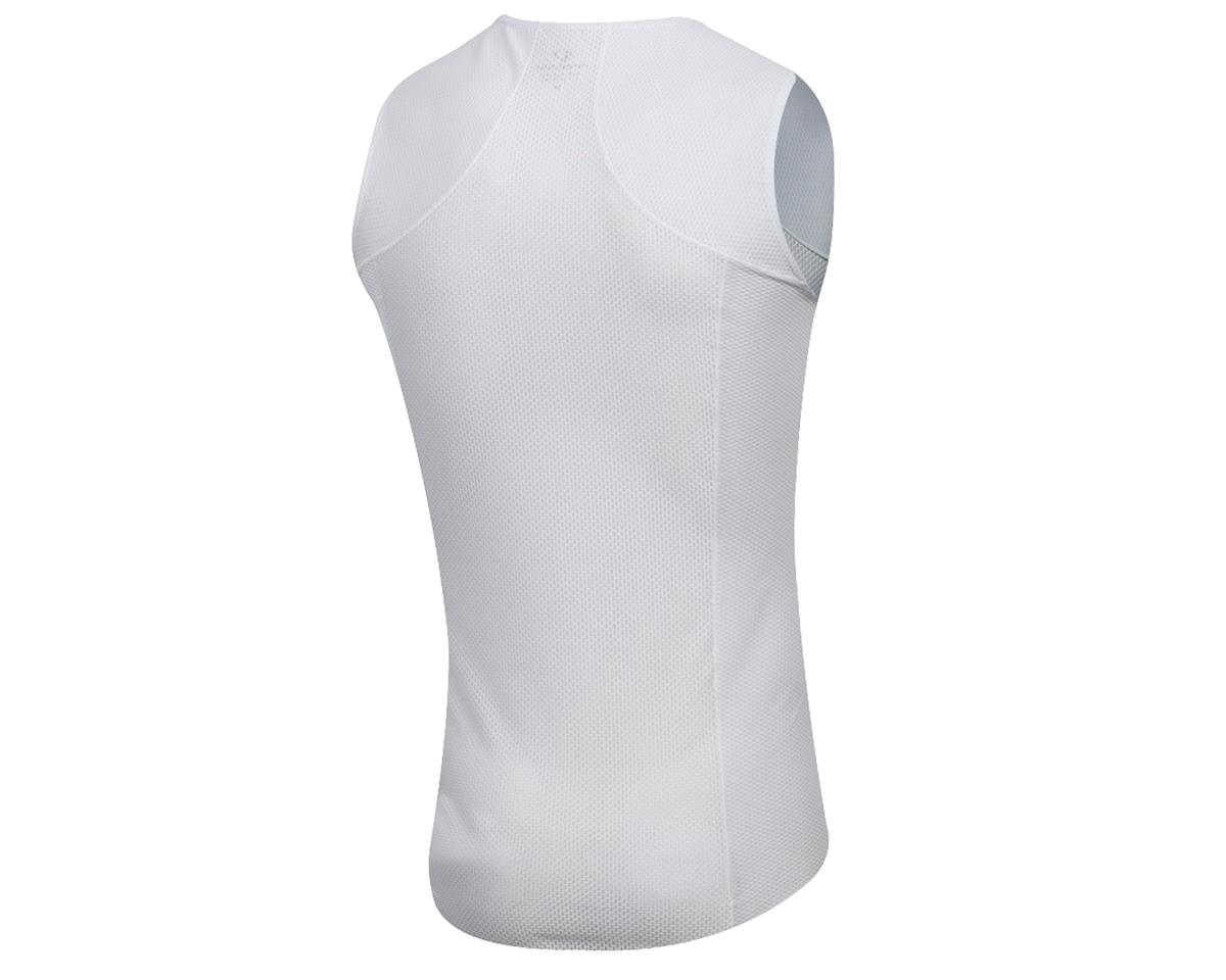 Pearl Izumi Men's Transfer Cycling Sleeveless Base Layer (White) (S)