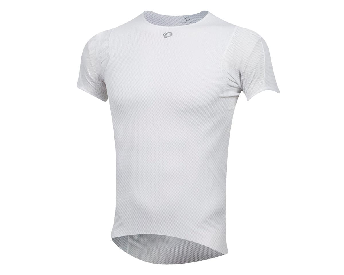 Pearl Izumi Transfer Short Sleeve Baselayer (White) (XL)