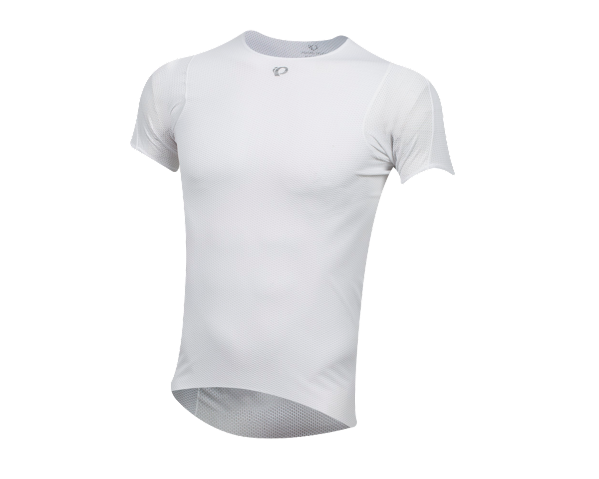 Pearl Izumi Transfer Cycling Short Sleeve Baselayer (White) (2XL)