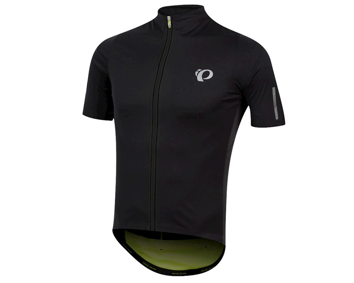 Pearl Izumi PRO Pursuit Wind Jersey (Black/Screaming Yellow) (XL)