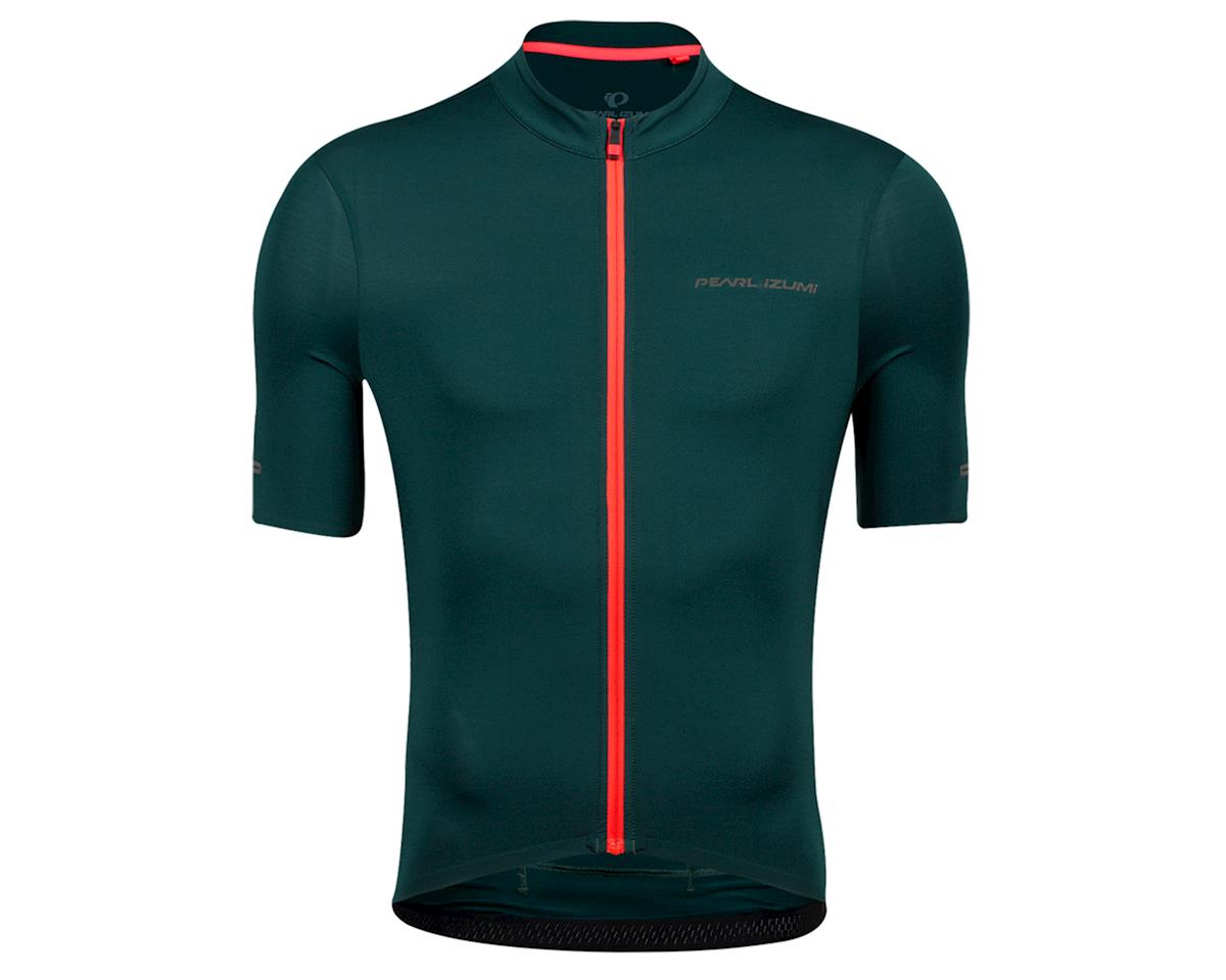 Image 1 for Pearl Izumi Pro Jersey (Pine/Atomic Red) (L)