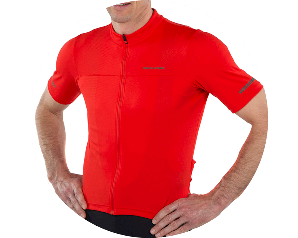 Pearl Izumi Tempo Short Sleeve Jersey (Torch Red) (2XL)
