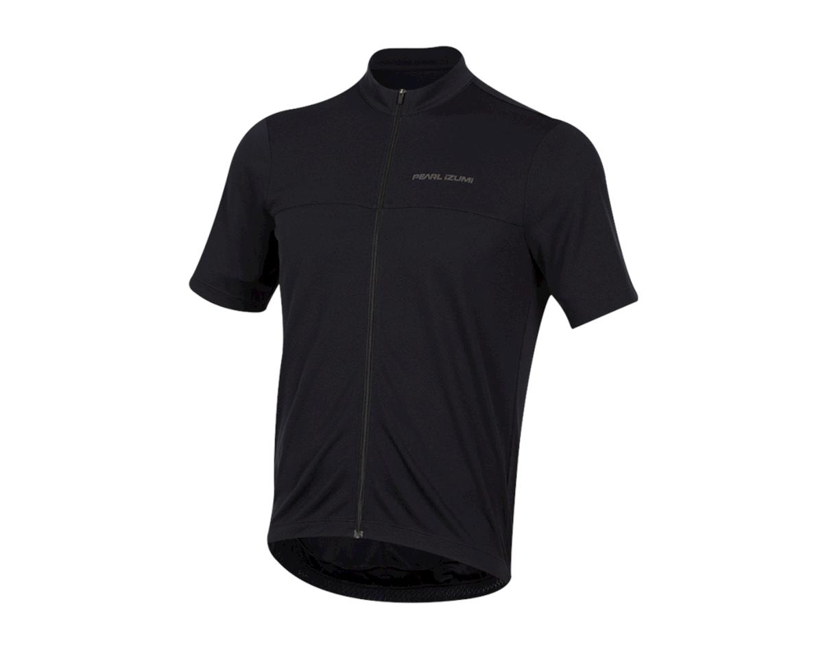 Pearl Izumi Quest Short Sleeve Jersey (Black) (L)