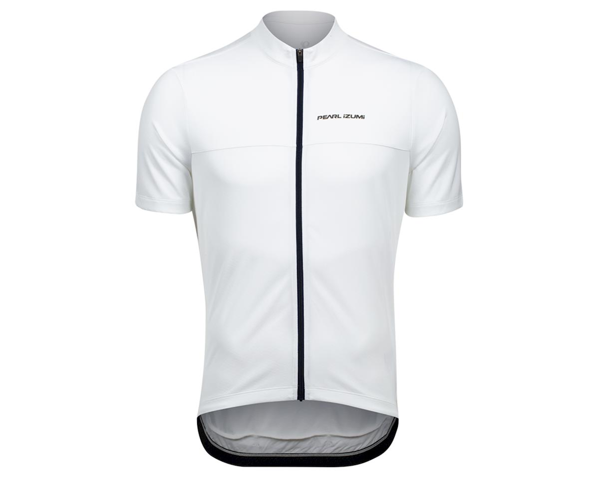 Pearl Izumi Quest Short Sleeve Jersey (White/Navy) (L)