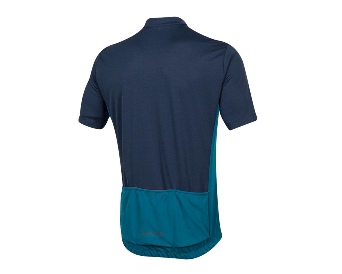 Pearl Izumi Quest Short Sleeve Jersey (Navy/Teal) (L)
