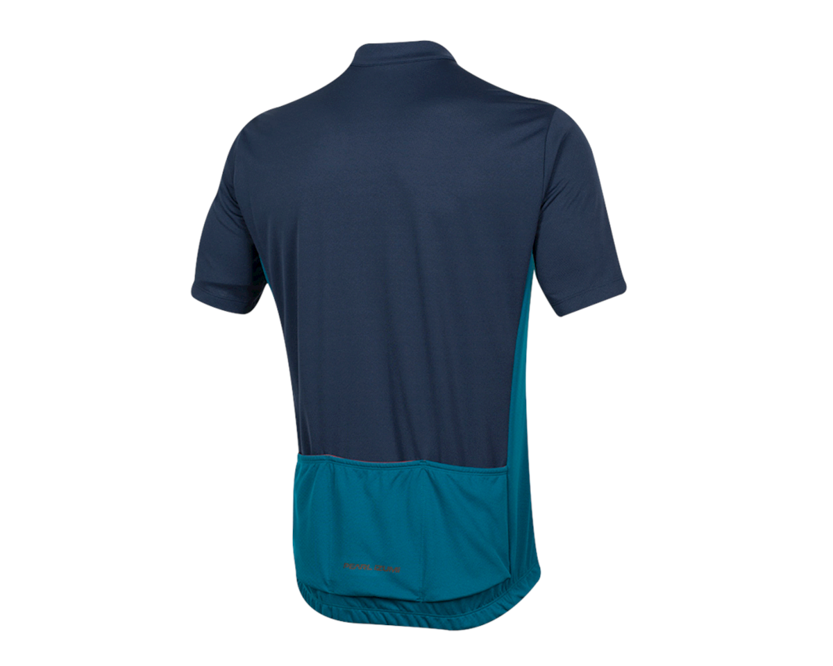 Pearl Izumi Quest Short Sleeve Jersey (Navy/Teal) (2XL)