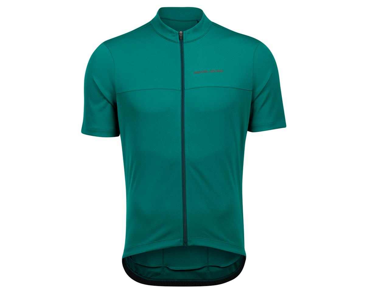 Pearl Izumi Quest Short Sleeve Jersey (Alpine Green/Pine) (S)