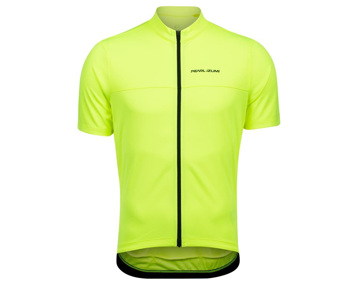 Pearl Izumi Quest Short Sleeve Jersey (Screaming Yellow/Phantom)
