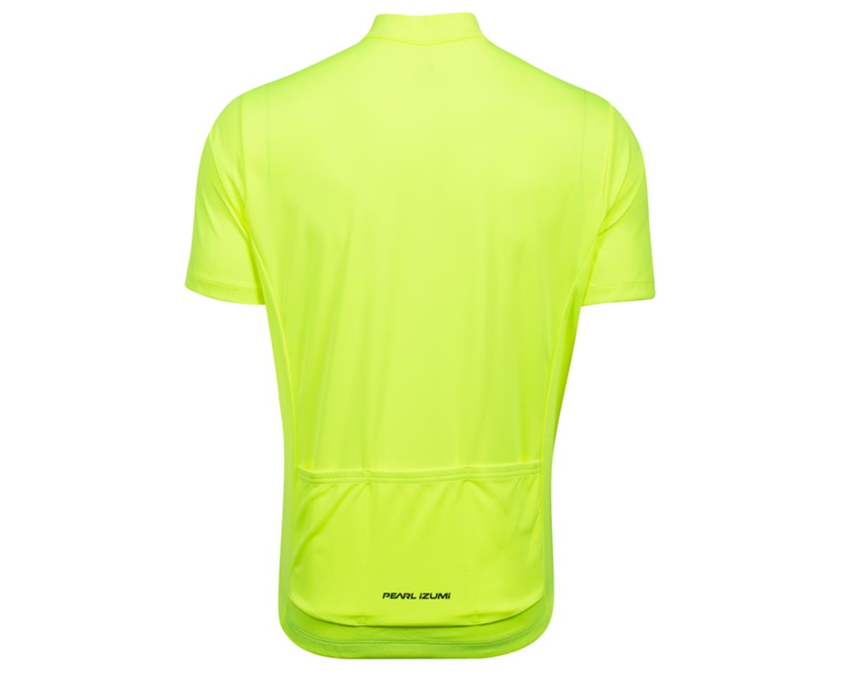 Pearl Izumi Quest Short Sleeve Jersey (Screaming Yellow/Phantom) (M)