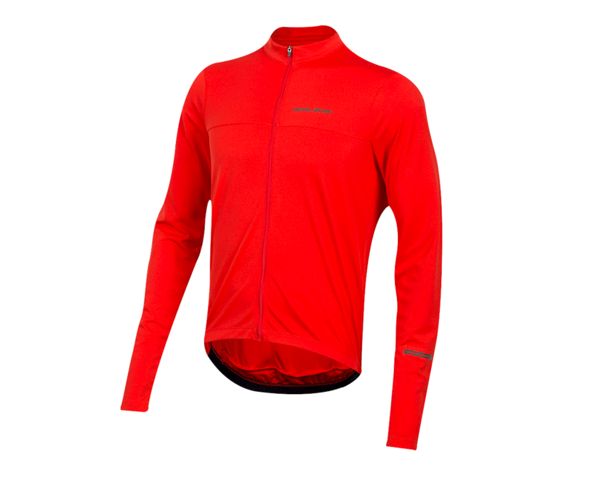 Pearl Izumi Quest Long Sleeve Jersey (Torch Red) (S)