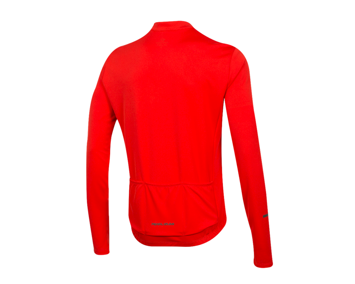 Pearl Izumi Quest Long Sleeve Jersey (Torch Red) (2XL)