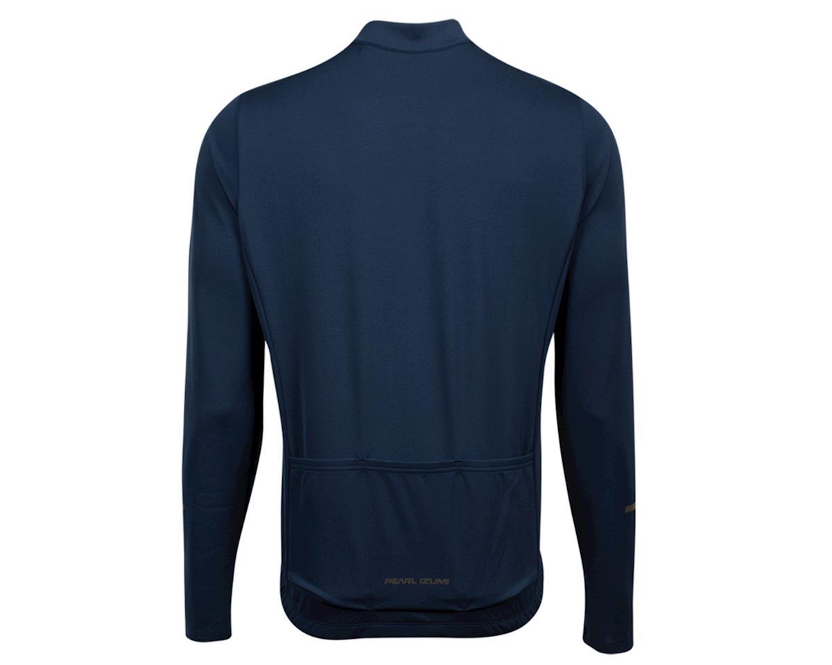 Pearl Izumi Quest Long Sleeve Jersey (Navy/Lapis) (L)