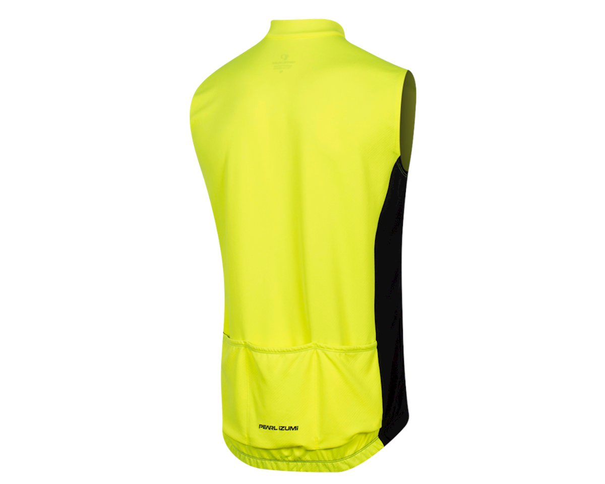 Pearl Izumi Quest Sleeveless Jersey (Screaming Yellow/Black) (M)