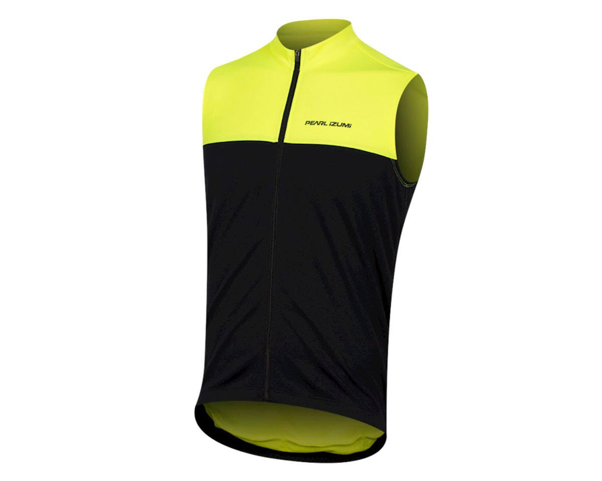 Pearl Izumi Quest Sleeveless Jersey (Screaming Yellow/Black) (XL)