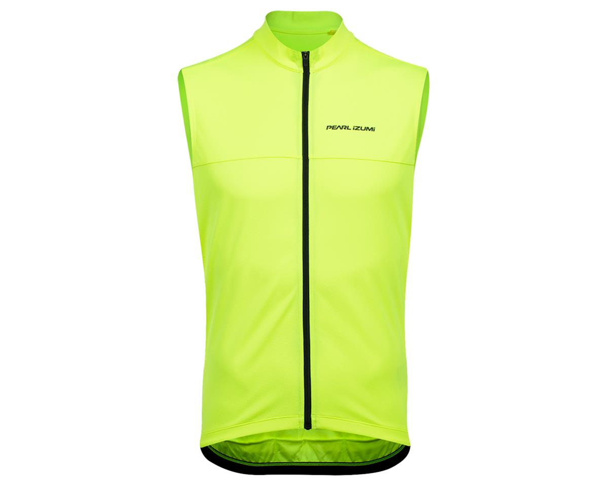 Pearl Izumi Quest Sleeveless Jersey (Screaming Yellow/Phantom) (XL)