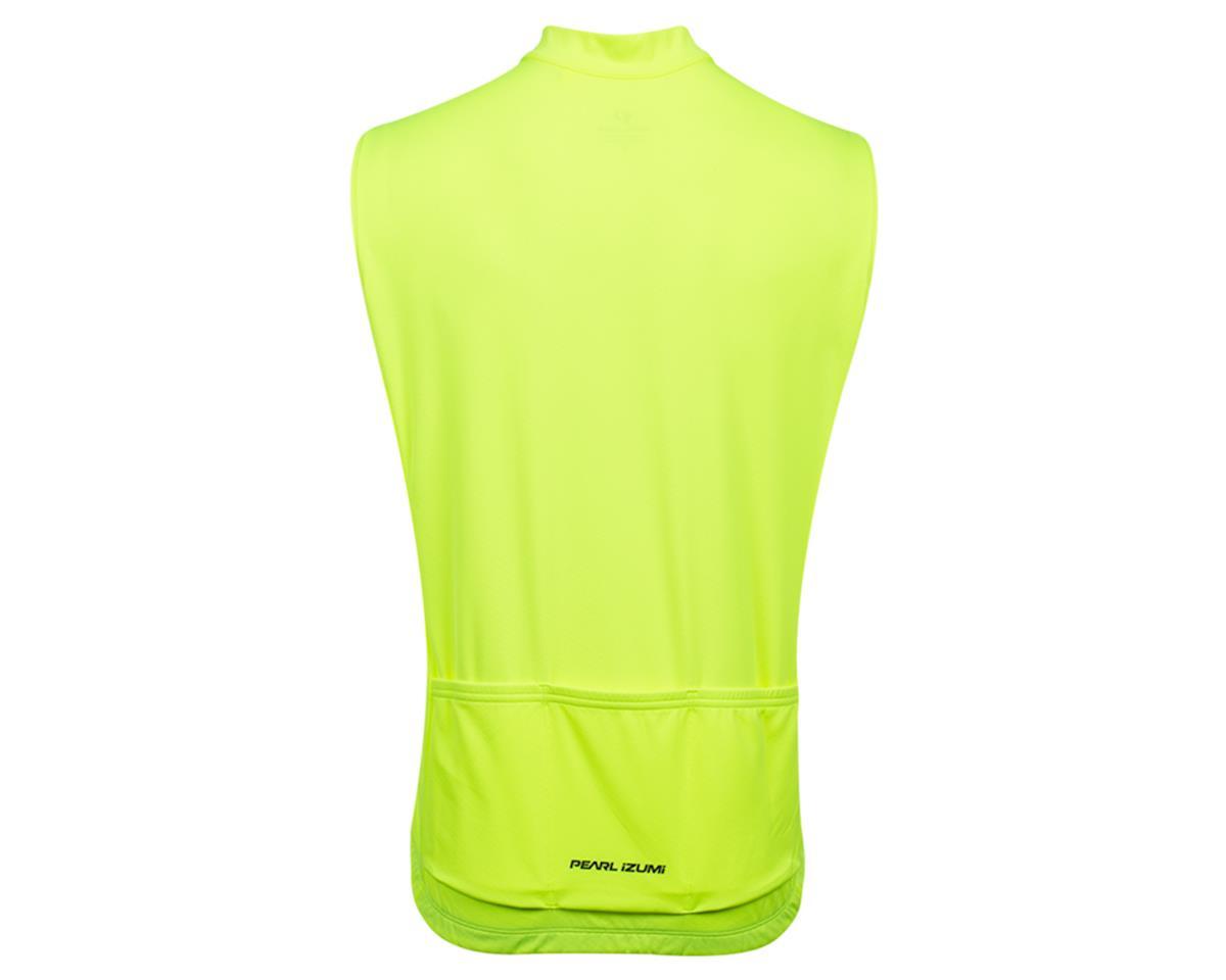 Pearl Izumi Quest Sleeveless Jersey (Screaming Yellow/Phantom) (XL)