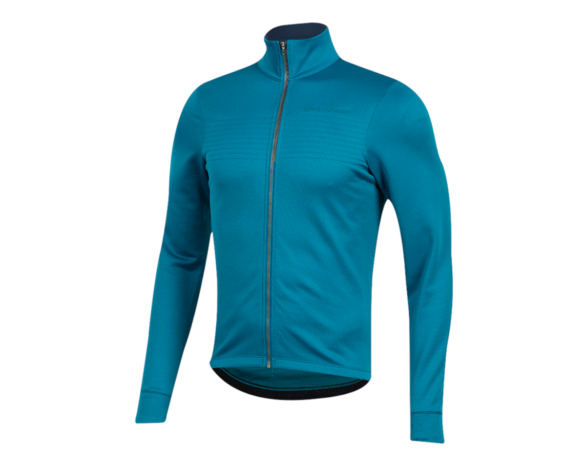 Image 1 for Pearl Izumi Pro Merino Thermal Jersey (Teal) (XL)