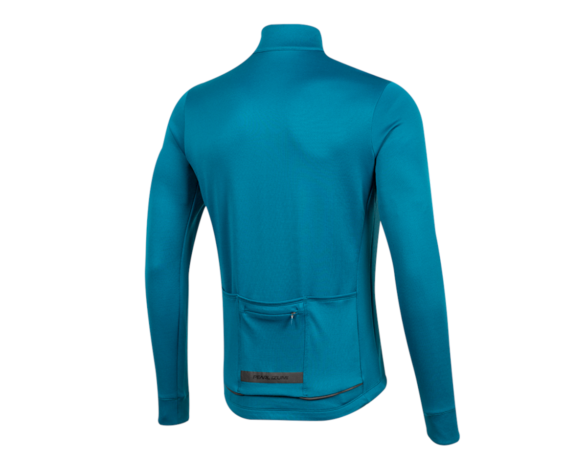 Image 2 for Pearl Izumi Pro Merino Thermal Jersey (Teal) (XL)
