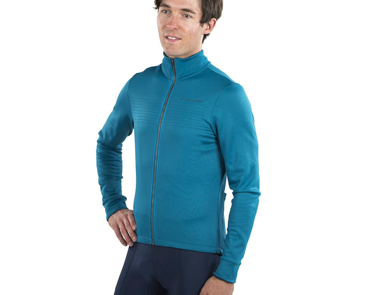 Image 3 for Pearl Izumi Pro Merino Thermal Jersey (Teal) (2XL)