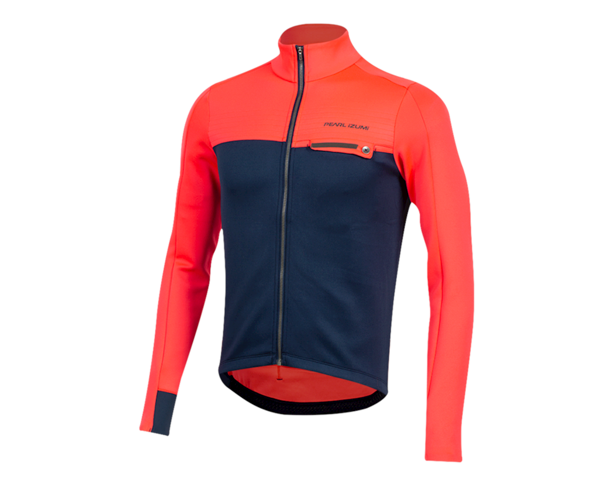 Pearl Izumi Interval Thermal Jersey (Atomic Red/Navy) (M)