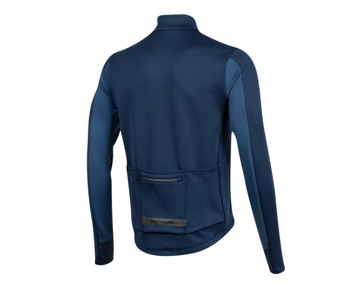 Image 2 for Pearl Izumi Interval Thermal Jersey (Navy/Dark Denim) (S)