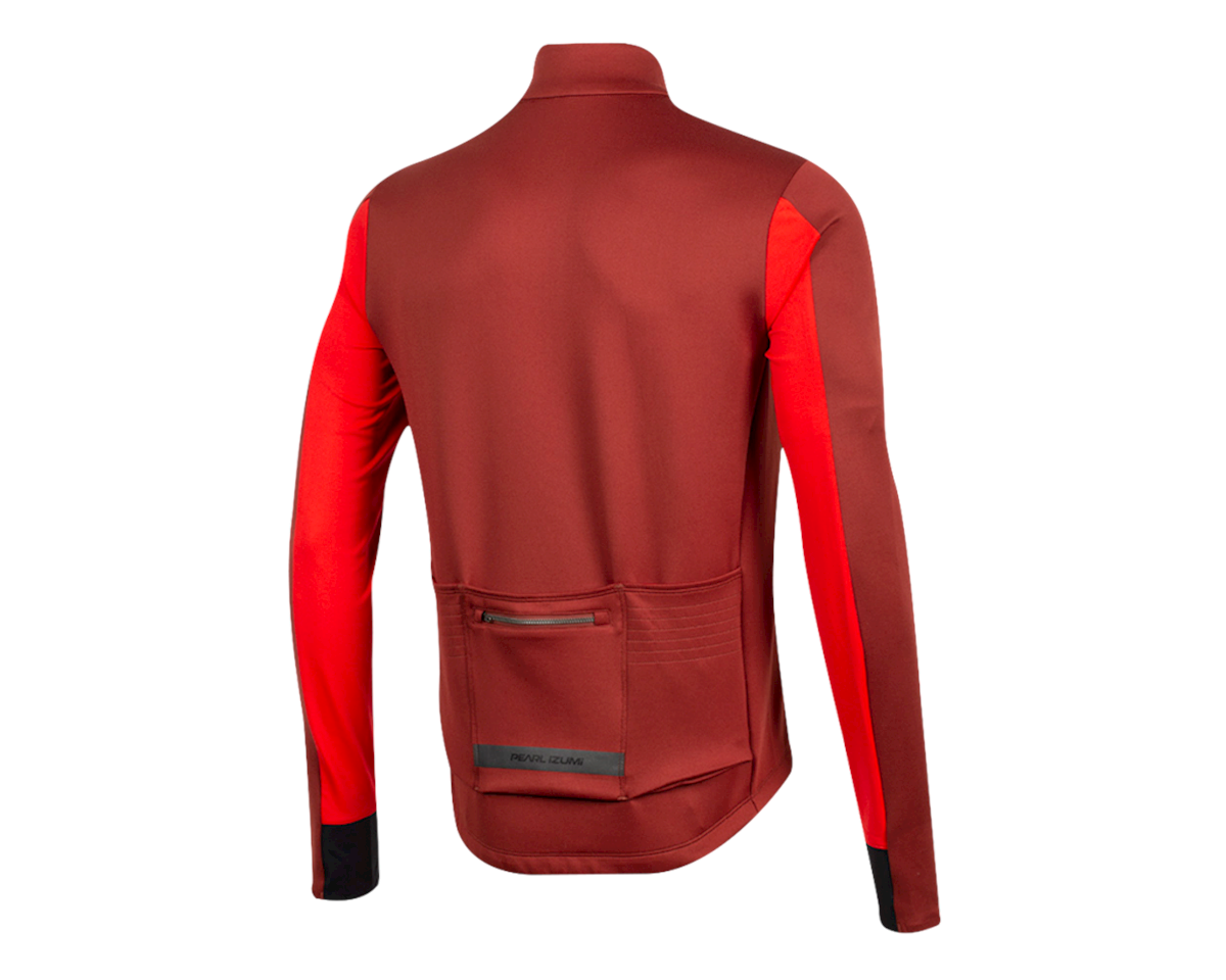 Image 2 for Pearl Izumi Interval Thermal Jersey (Russet/Torch Red) (2XL)
