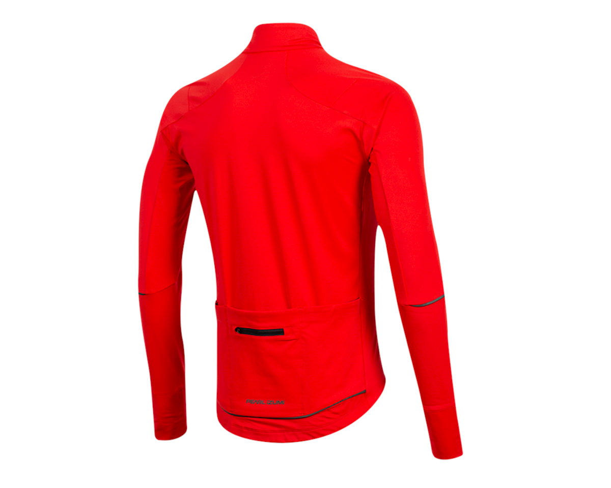 Image 2 for Pearl Izumi Attack Thermal Jersey (Torch Red) (M)