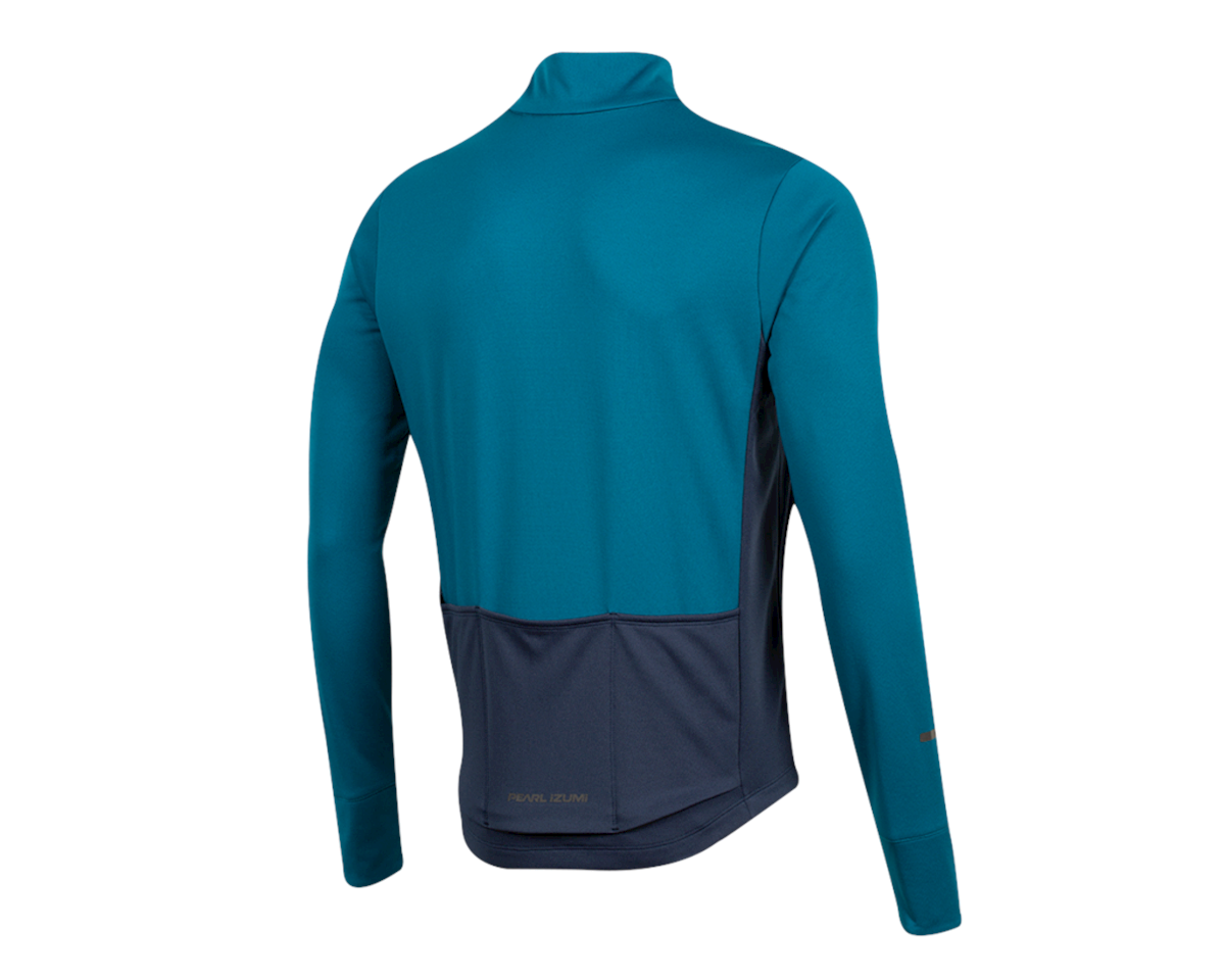 Image 2 for Pearl Izumi Quest Thermal Jersey (Teal/Navy) (M)