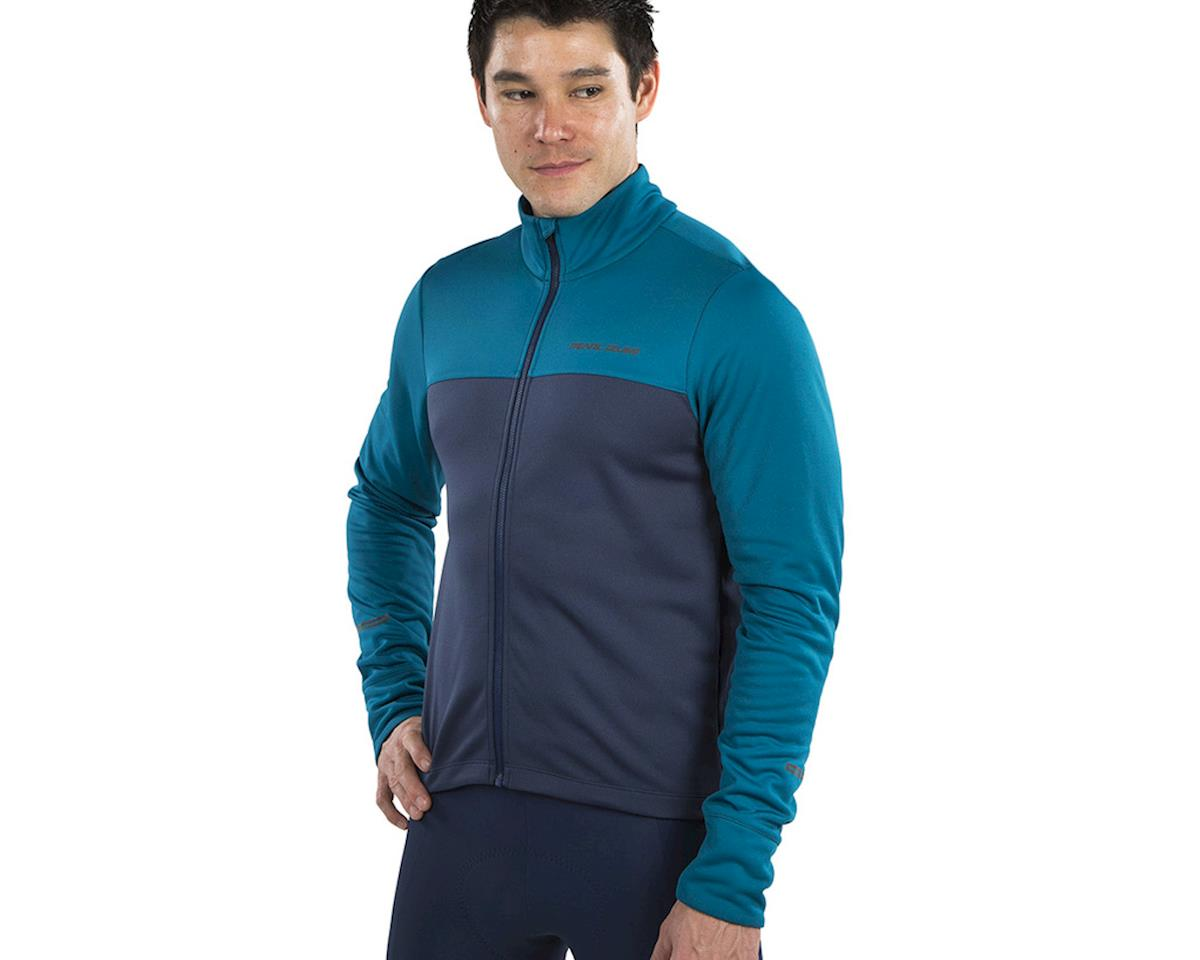 Pearl Izumi Quest Thermal Jersey (Teal/Navy) (S)