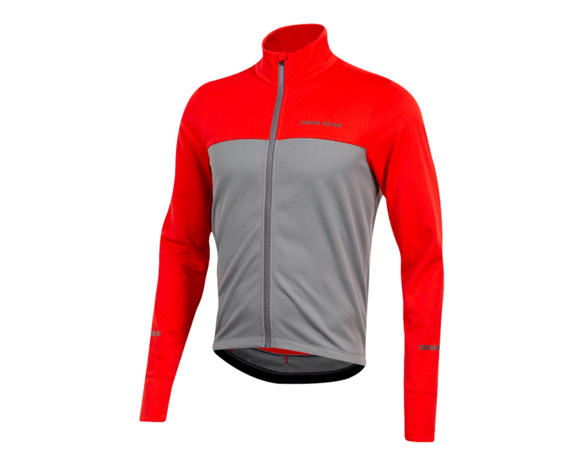 Pearl Izumi Quest Thermal Jersey (Torch Red/Smoked Pearl) (L)