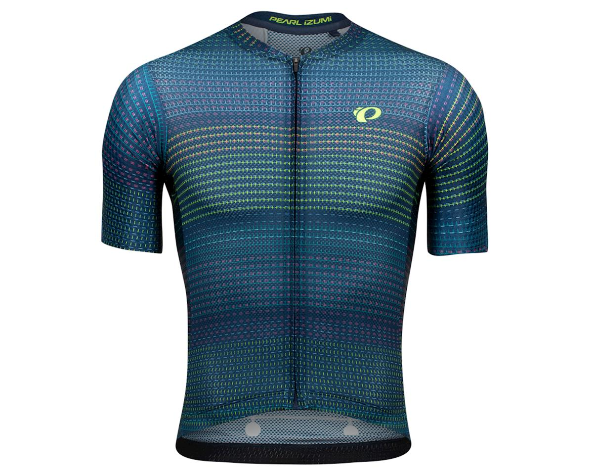 Image 1 for Pearl Izumi Men's PRO Mesh Jersey (Navy Fraction) (S)
