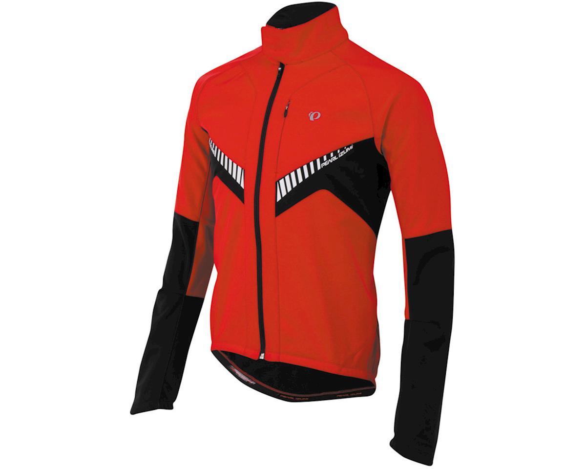 Pearl Izumi Elite Softshell Bike Jacket (True Red/Black)