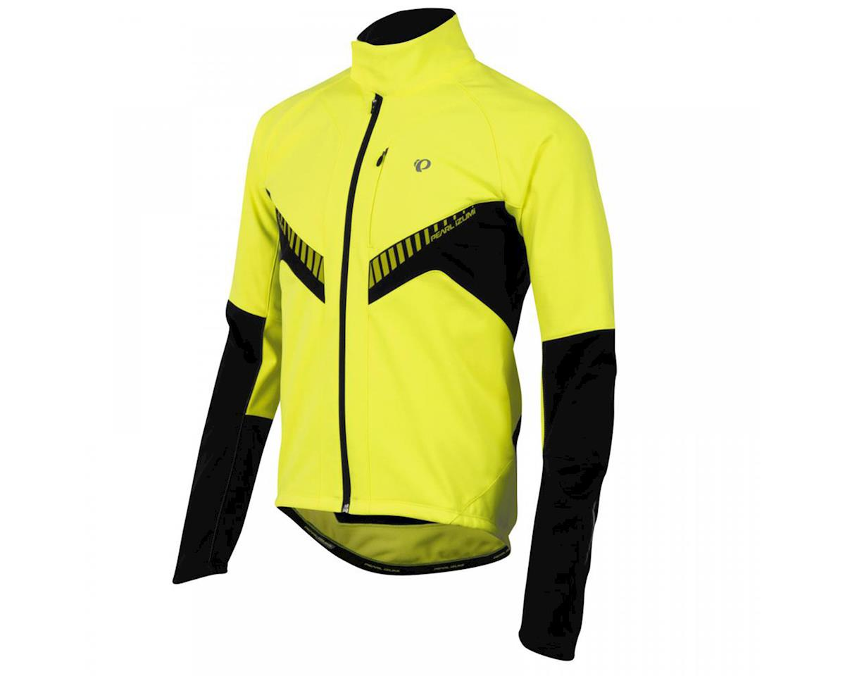 Pearl Izumi Elite Softshell Bike Jacket (Screaming Yellow/Black) (S)