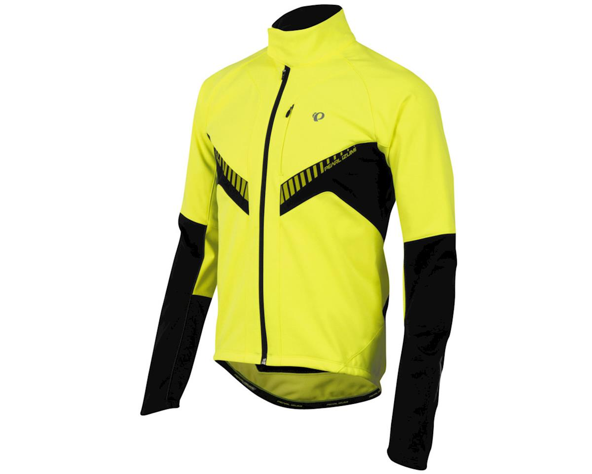 Pearl Izumi Elite Softshell Bike Jacket (Screaming Yellow/Black)